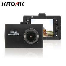 Kroak Новатэк 96650 Видеорегистраторы для автомобилей Full HD Автомобильный Регистраторы 170 градусов объектив Камера Ночное видение тире Камера