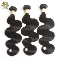 King Hair Body Wave Brazilian Remy Hair Weaving 1 Piece Nature Color 100 Human Hair Bundles