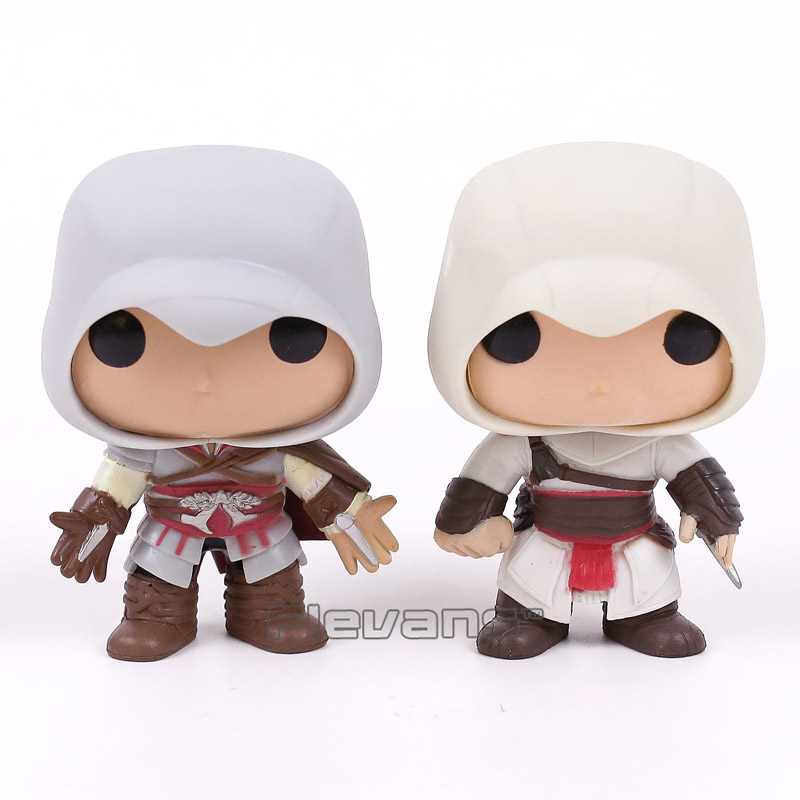 FUNKO <font><b>POP</b></font>! <font><b>Games</b></font> <font><b>Assassins</b></font> <font><b>Creed</b></font> <font><b>ALTAIR</b></font> #20 / EZIO #21 / CONNOR #22 <font><b>Vinyl</b></font> <font><b>Figure</b></font> Collectible Model Toy Doll 3 Types