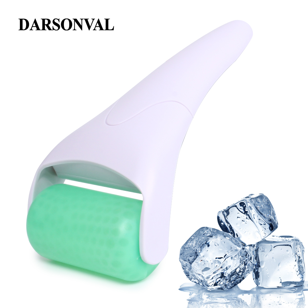 цены DARSONVAL 3D Ice Roller Face Massager For Face Body Facial Rollers Skin Care Tool Preventing Wrinkle Firming Skin Tighten Pore