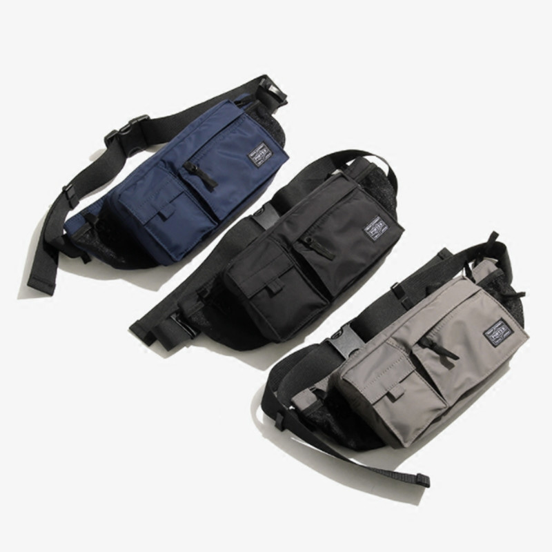 Nylon Men Crossbody Bag waterproof Chest Bags Casual Multi Pockets Messenger Shoulder Back Multi-function waist Pocket bobo men s pockets chest bag sport men s bags bag multi function outdoor canvas small satchel wave new