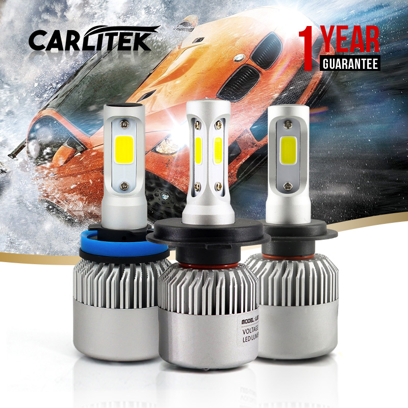 H7 Led Lamp All In One 8000LM 6500K COB Bulbs Car Headlight High Low Beam Auto Light Source Lampada Led H7 Bulbs Car Styling