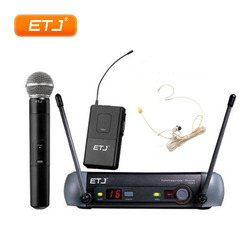 UHF Wireless Microphone PGX24 KTV Wireless System BETA58 Karaoke Top Quality PGX4 PGX2 Handheld Headset Mic With Beltpack