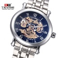 Original Luxury Brand Watch TEVISE Men Hollow Mechanical Watch Men Waterproof Steel Men Watches Clock Relogio Masculino Relojes