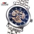 Original Luxury Brand Watch TEVISE Men Hollow Mechanical Watch Men Waterproof Steel Men Watches Clock Relogio Masculino Relojes