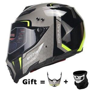 BYE New Motorcycle Helmet Men