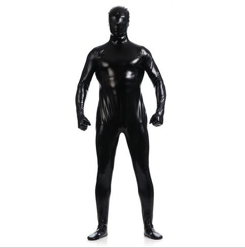 Brand WaterMonkey ZentaiHero Custom Made Unisex Shiny Metallic Zentai Suits Sexy Color Fancy Dress Full Bodysuits For Party
