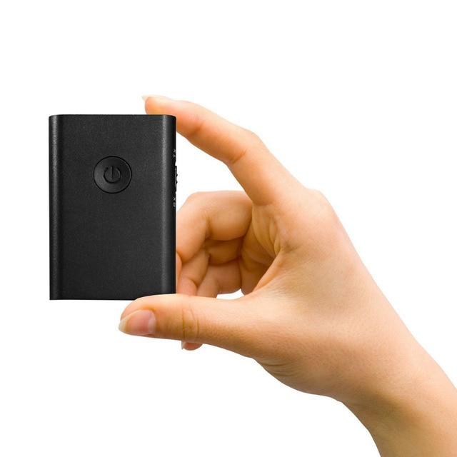 2-in-1 Stereo Wireless Bluetooth Receiver 3.5mm Jack Bluetooth Audio Music Transmitter Adapter APTX for TV Car Speaker Headphone