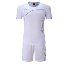 font b Football b font Jerseys Men Soccer Uniform Set Training Sports Wear Suits Boys