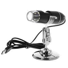 цена на 1000X USB 8 LED Digital Microscope Camera Endoscope Magnifier with Stand USB Endoscope Camera Magnification