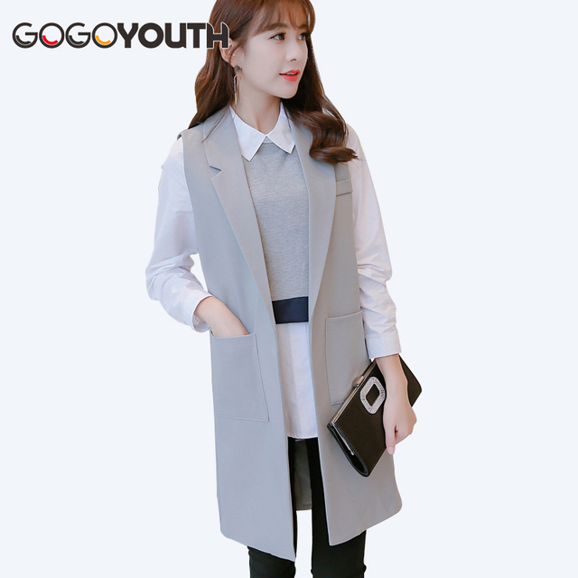 aliexpress gilet femme nouvelle europe long en fausse fourrure gilet argent gris fourrure veste. Black Bedroom Furniture Sets. Home Design Ideas