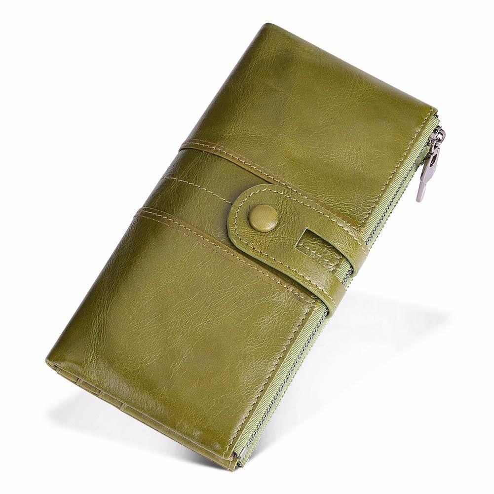 3e4e26c33dd63 JOYIR Tasarım Unisex Kadın Debriyaj Cüzdan Hakiki Deri Erkek kadın uzun cüzdan  Fermuar Çanta bozuk para