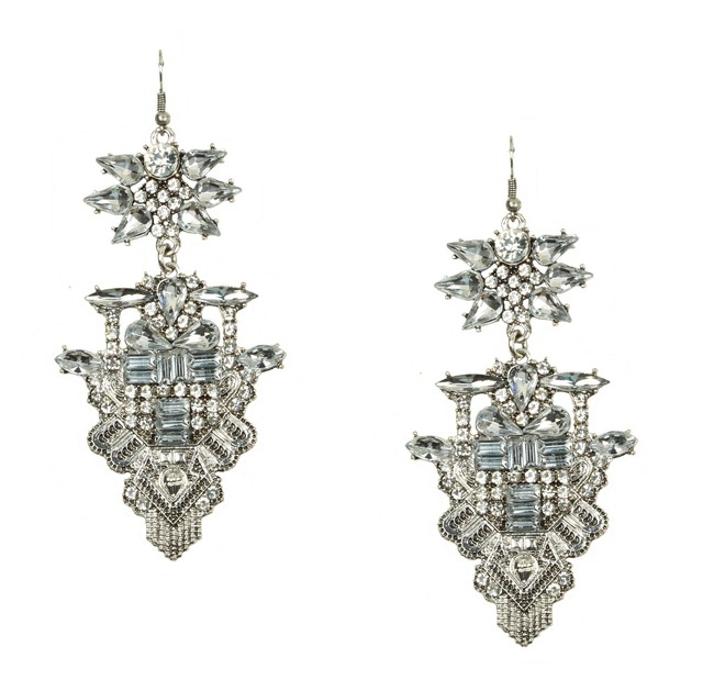 Latest Arrival Statement Earrings Large Costume Hot Crystal E10550
