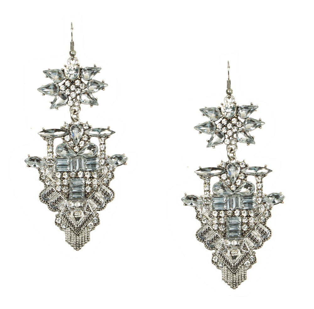 Latest Arrival Statement Earrings, Large Costume Earrings, Latest Hot  Crystal Earrings E10550(china