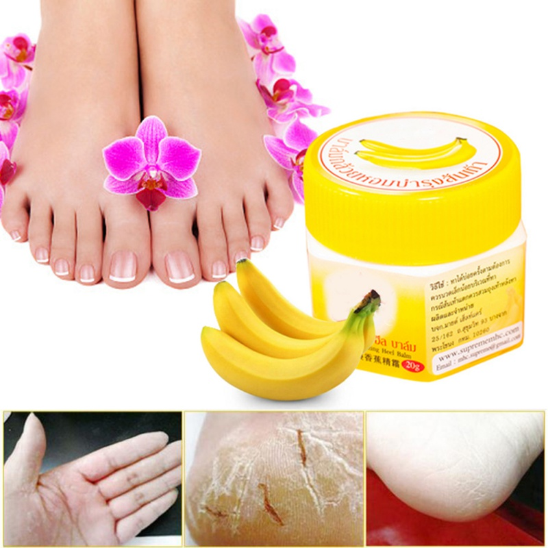 Cracked Heel Cream For Rough Dry Cracked Chapped Feet Remove Dead Skin Soften Moisturizing Foot Care Cream