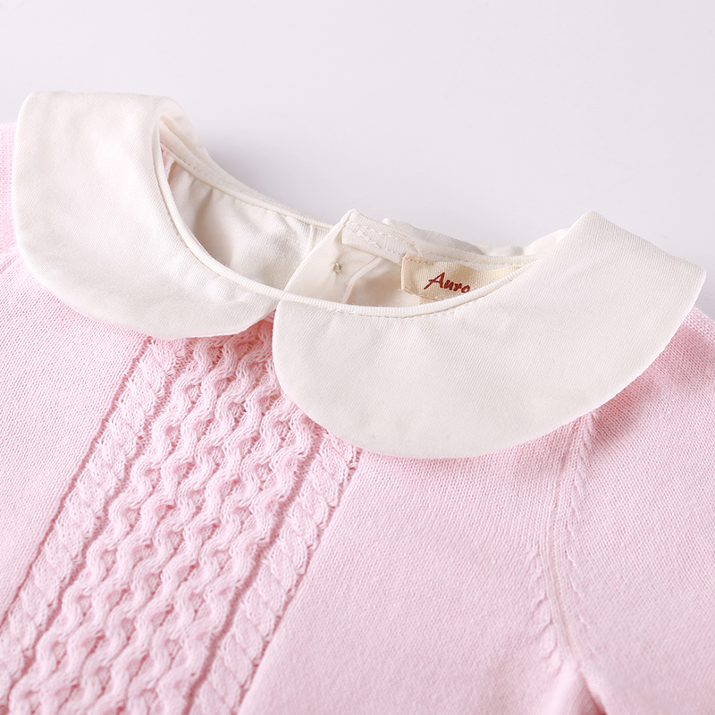 337e0f6d0 Buy Auro Mesa newborn baby clothes Infant Baby Pink Blue Knitting ...