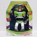 30 cm Toy Story 3 Buzz Lightyear brinquedo falando Buzz Lightyear PVC coleção modelo boneca brinquedos com música em caixa