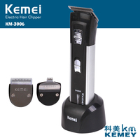 Keimei Electric Hair Trimmer For Men With Art Words Blades Haircut Machine Rechargeable Hair Clipper