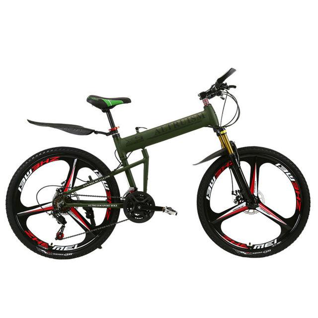 Альтруизм X5 Pro Горный Велосипед Алюминий сплав 21 скорость для мужские велосипеды 26 дюймов дисковый тормоз складной Велосипедный спорт
