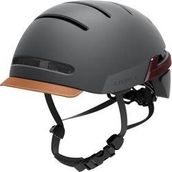 W nowym stylu inteligentny jazda na rowerze kask skuter elektryczny do ćwiczenia równowagi hełm dojeżdżający bezprzewodowy włącz sygnał kierownica pilot zdalnego głośnik bluetooth|Kaski rowerowe|   -