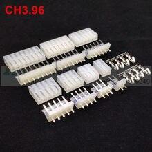 20 zestaw/partia CH3.96 2139 3.96mm CH3.96-2,3, 4,5, 6,7, 8,9, 10 złącze pinowe 20 sztuk mężczyzna + 20 sztuk żeńskie + zacisk 3.96mm