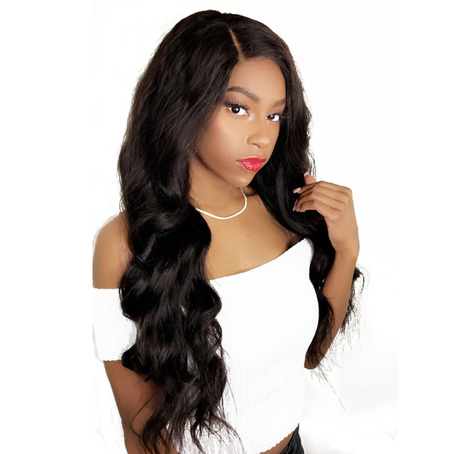 Pre-Plucked Glueless Full Lace Human Hair Wigs For Women With Baby Hair Brazilian Body Wave Wig Bleached Knots Non-Remy