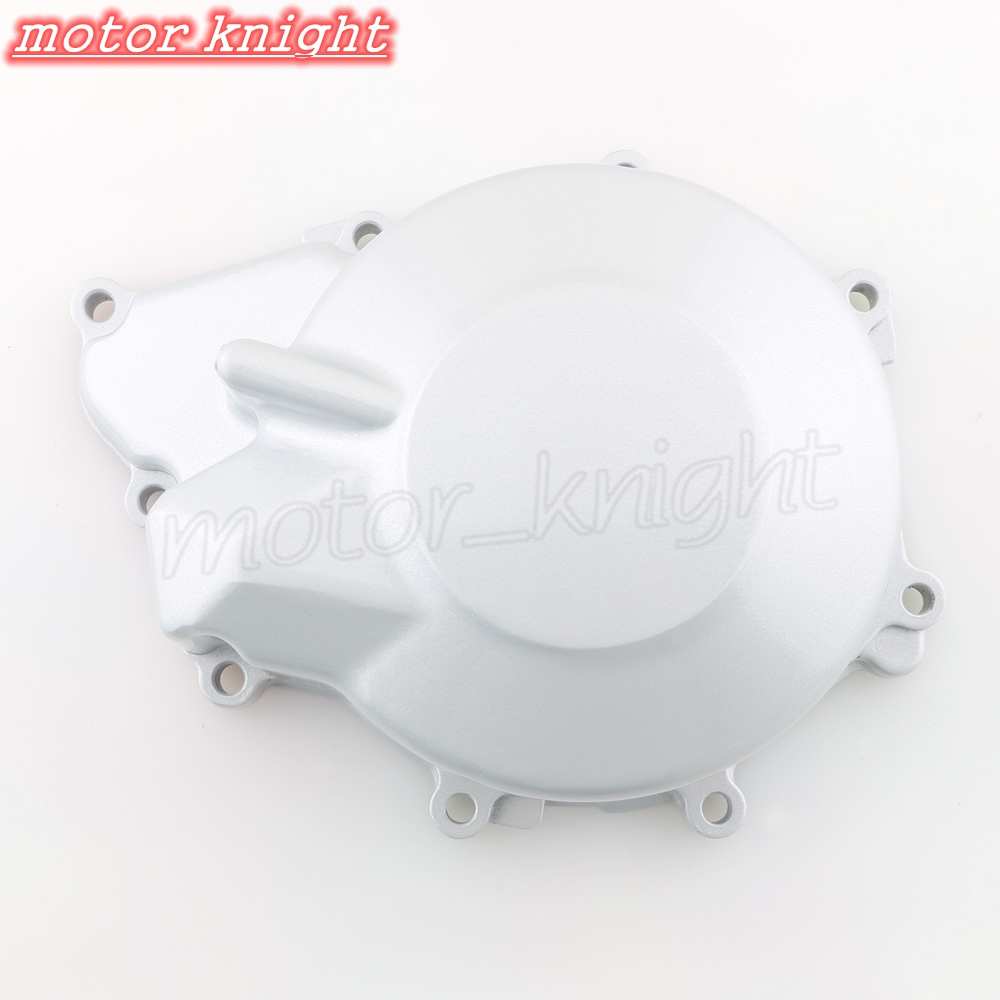 Silver Motorcycle Engine Crank Case Stator Cover For Yamaha YZF-R6 1999-2002