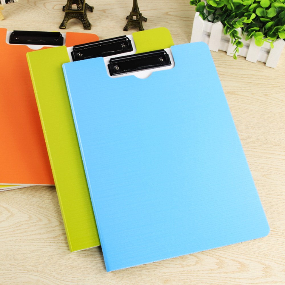 A4 Covered Clipboard File Folder Organizer Documents Holder Writing Pad Padfolio Portfolio Tool For Office School Home Gift