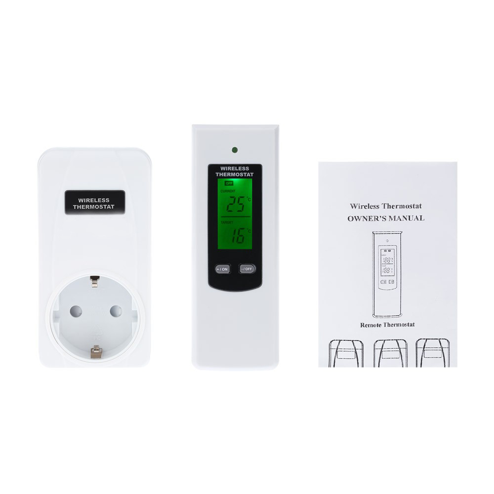 Electronic Remote Thermostat Wiring Diagram And Ebooks Snapper Lt160h42cbv2 Harness 2017 Rf Wireless Control Switch Temperature Controller 433mhz Rh Aliexpress Com Honeywell