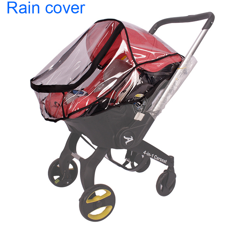 Breathable Stroller Sunshade Covers with Big Bow Infant Carrier Cover Cupcake Cotton Baby Carseat Canopy Safety Basket Case
