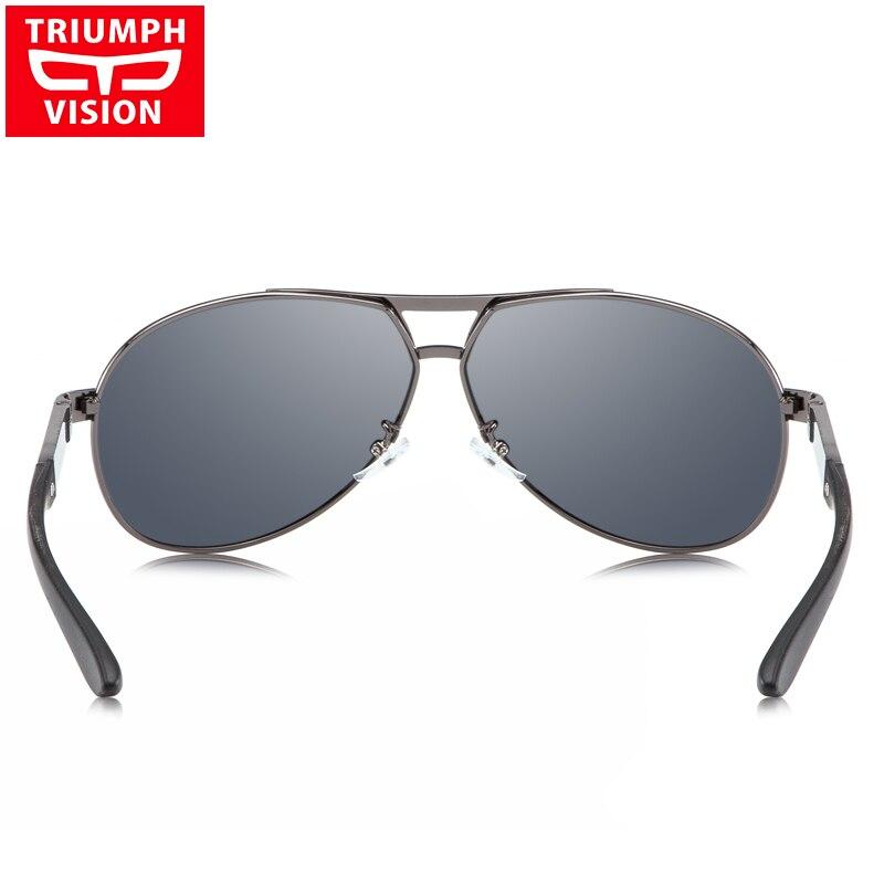 3447da5a05 Triumph Vision Big Frame Polarized Sunglasses for Men Pilot Style .