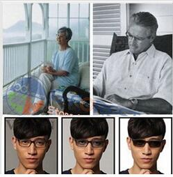 1 56 photochromic Progressive multi focal resin lenses prescription lenses without line myopia presbyopia Free shipping