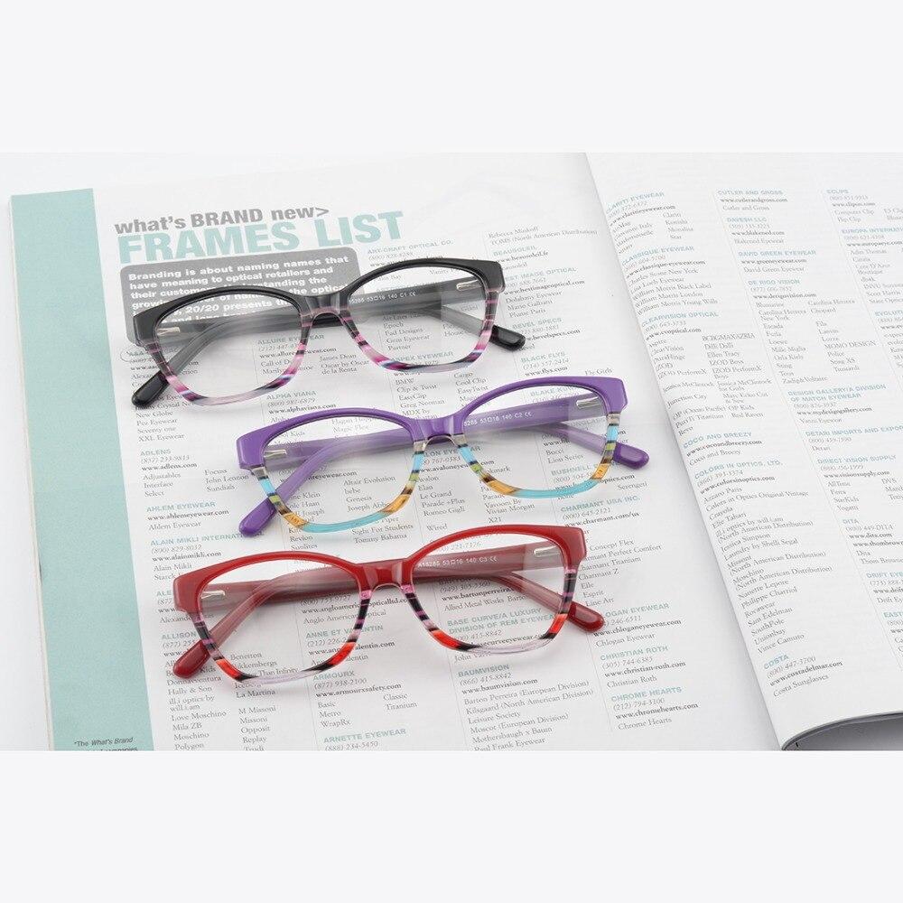 Kirka Glasses Frame Әйелдер Оптикалық Шыны - Киімге арналған аксессуарлар - фото 6