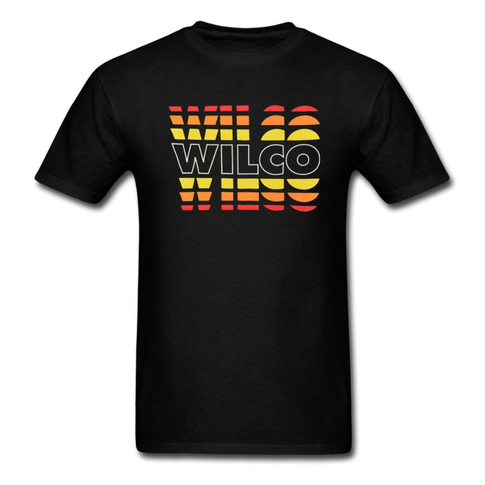 wilco fade logo t shirt men and women alternative country rock tee euro size s xxxl in t shirts. Black Bedroom Furniture Sets. Home Design Ideas