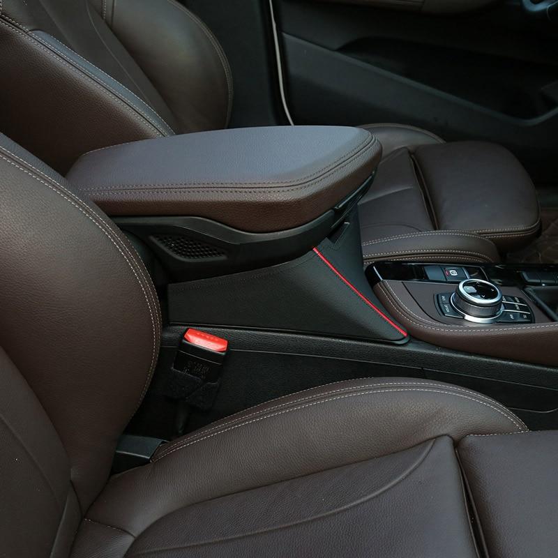4 Styles pour BMW X1 F48 2016-2019 accoudoir central boîte de rangement conteneur pour X2 F47 2018 2019 accessoires de voiture conduite à gauche - 4