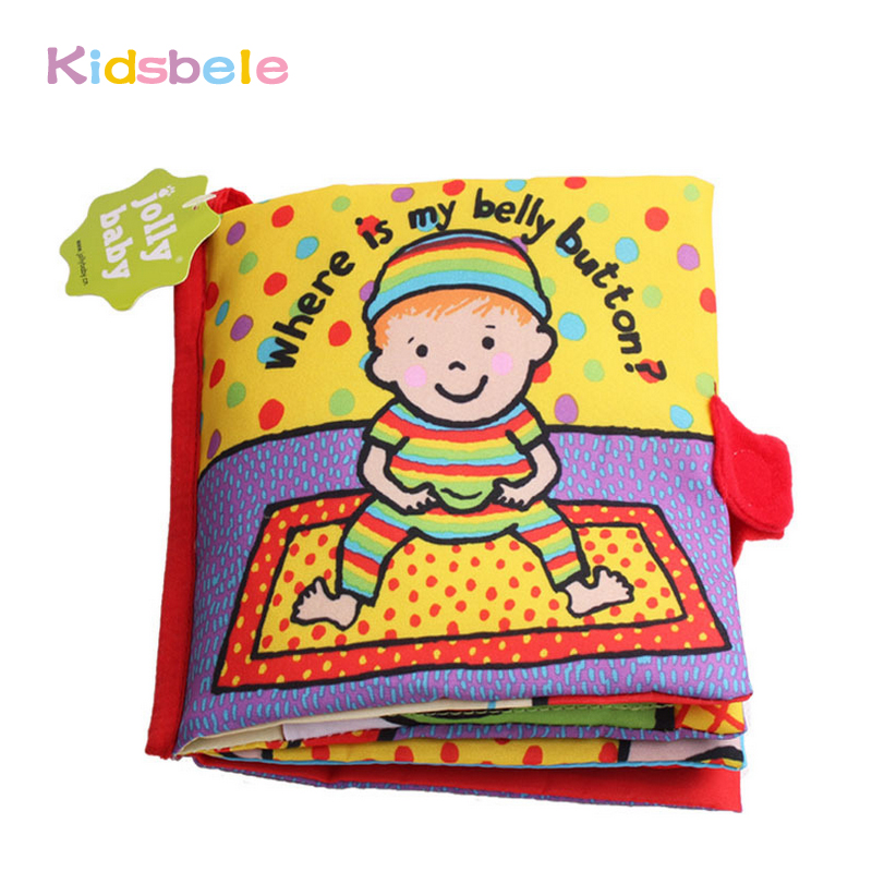 Baby Book Rattle Toy Hide And Seek Play Book Kids Toy Early Learning Educational Soft Crib Hanging Baby Toys 0-12 Months