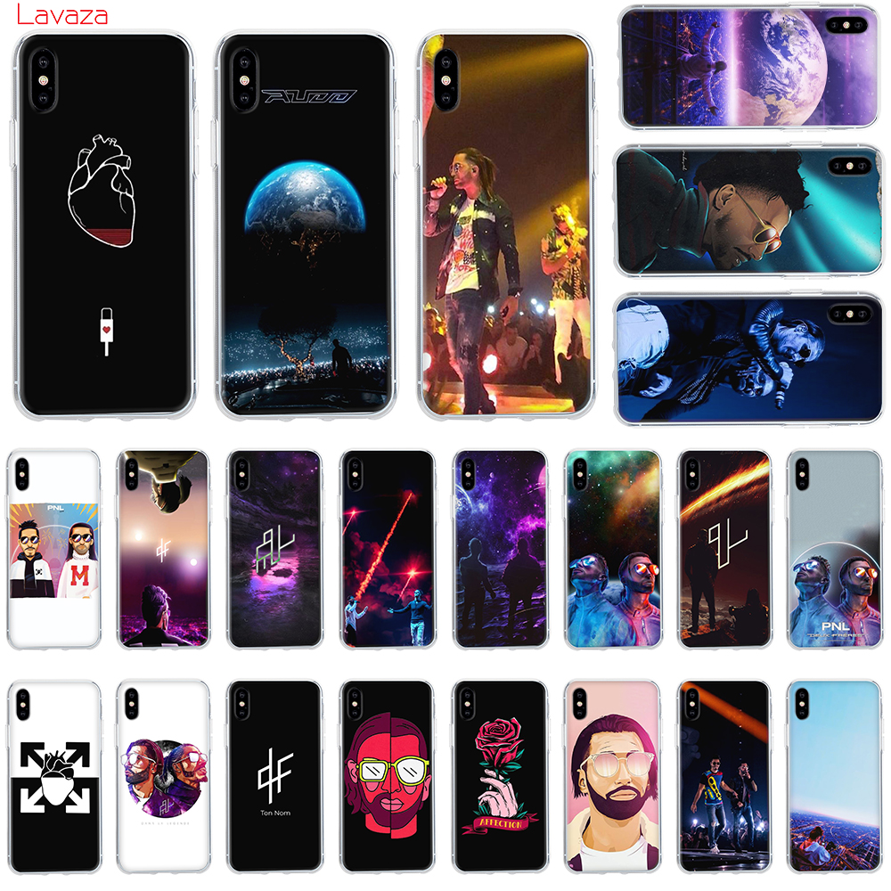 Lavaza PNL Rapper Hard Phone Case for Apple iPhone 6 6s 7 8 Plus X 5 5S SE for iPhone XS Max XR Cover