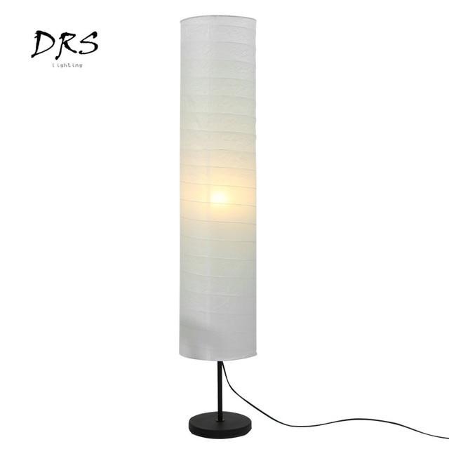 Nordic Modern Led Floor Lamp For Living Room Bedroom Design Luminaire Indoor Lighting Decoration Paper Lampshade Standing Lamp 2