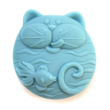 Nicole R1256 Cartoon Pattern Silicone Soap Mold Handmade Making Tool