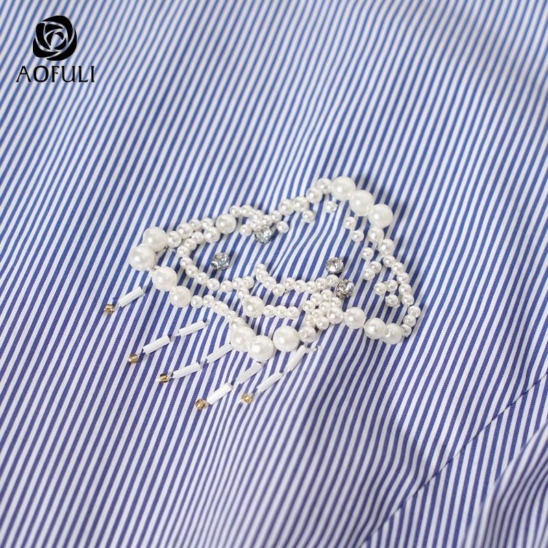 Formato Abito Della Vestito Femminile 4xl 2019 Strisce Corto Le Abbigliamento Estate Casual Dalla Bianco A3901 Più Di Cinghia Del Blu A Donne Aofuli 5xl Fasciatura BPwq4wO