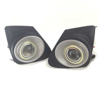 For Toyota Corolla 2012 2013 LED COB Angel Eyes DRL Yellow Signal Light H11 Halogen / Xenon Fog Lights with Projector Lens