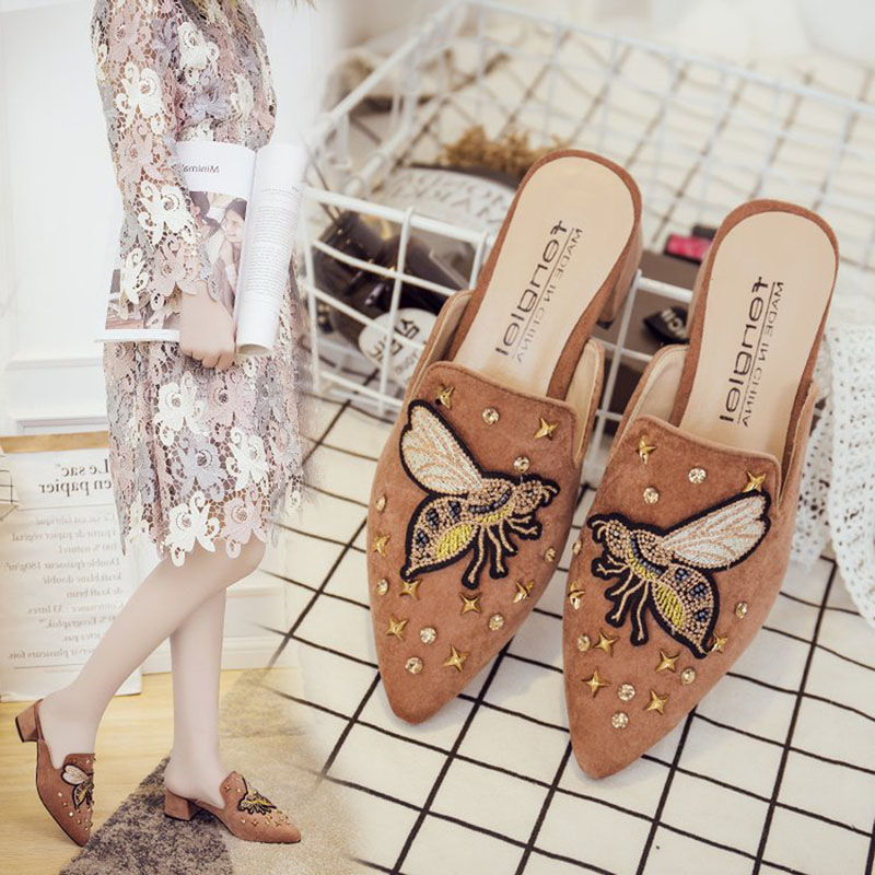 Hearty Aiyuqi Womens Mesh Sandals 2019 Spring New Genuine Leather Womens High Heel Sandals Women's Shoes Heels Large Size 41 42 Summer Dress Shoes Women Luxuriant In Design