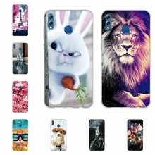 For Huawei Honor 8X Max Cover Ultra Slim Soft TPU Silicone Case Cute Cat Patterned Enjoy Coque