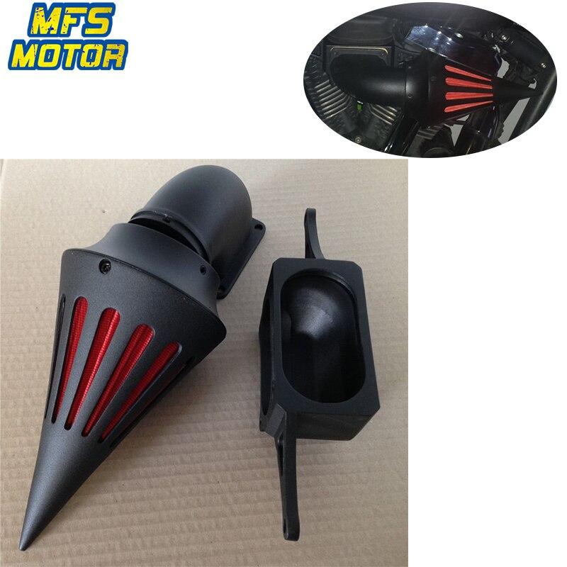 Для 02 10 YAMAHA Road Star Midnight Warrior шип конус воздухоочиститель Впускной фильтр комплект аксессуары для мотоциклов Запчасти 2002 2010