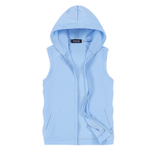 Mens Jacket Vest 2017 New Fashion Casual Men Sleeveless hooded male Hot sale Top Comfortable choice Multi-color selection S-5XL