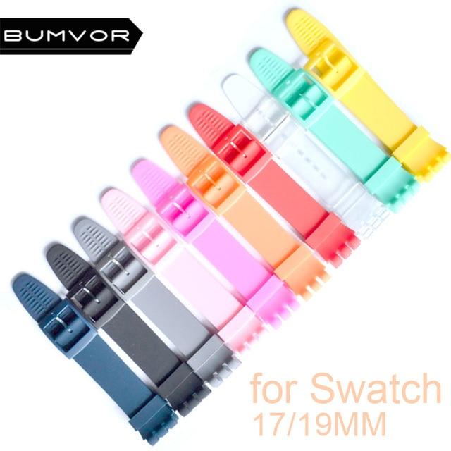 Сменный ремешок для часов Ремешок для образец ремешка 17 мм и 19 мм высокого качества-пожалуйста, отметьте размер и цвет
