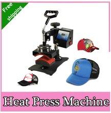 2015 new design Economic Cap Heat Press Machine Hat Heat Transfer Free Shipping