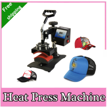 2015 new design Economic Cap Heat Press Machine, Hat Heat Transfer,Free Shipping