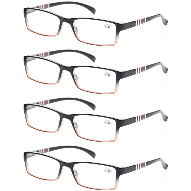 Lesebrille Mode Metall Halbrahmen Brille Retro Runde Rahmen Männer - Bekleidungszubehör - Foto 4