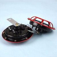 Atreus Car Accessories Red Electric Blast Tone Horn Kit For Jeep Renegade Wrangler JK Volvo XC90 XC60 S90 S60 V70 S40 V40 V70